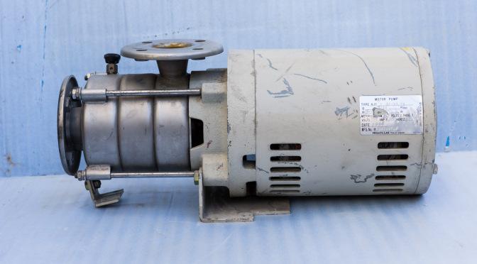 日立 NJP40-53.7H ステンレス製多段ポンプ分解