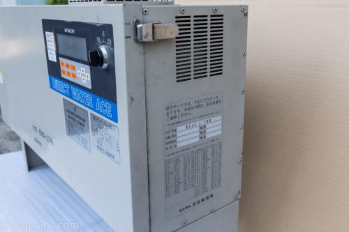 日立 BU50-3.7HR 制御盤 右面