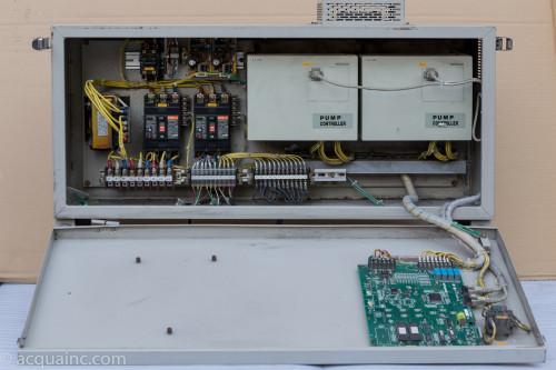 BU50-3.7HR 制御盤内