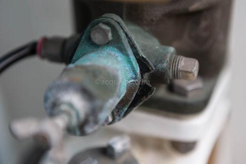 VPB2-50 減圧弁調整部破損