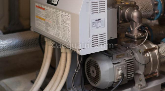 テラル NX-65VFC402-2.2W 高温異常で停止した原因