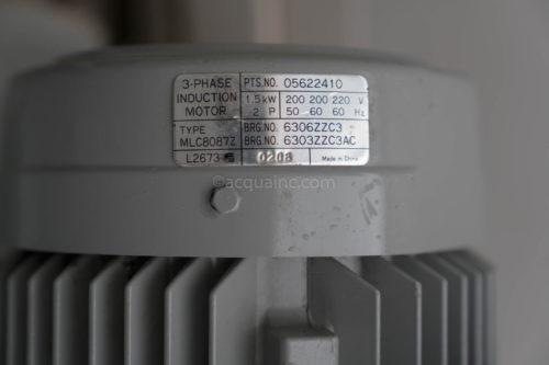 川本製作所 KN-405-C1.5 モータ銘板 MLC8087Z