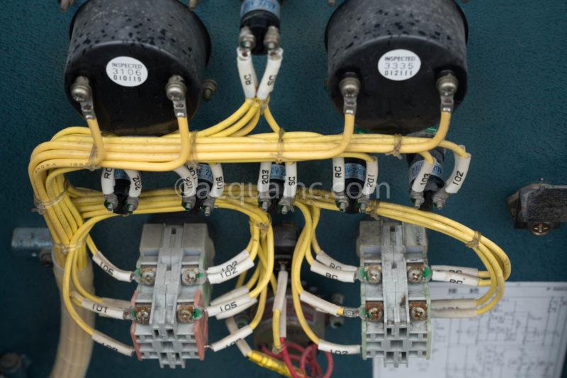 EPD2-0.75 扉内側 配線