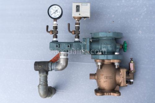 テラルキョクトウ リルエース U-50PCL-32X32M52.2W 逆止弁、減圧弁、圧力スイッチ、圧力センサー、三方弁