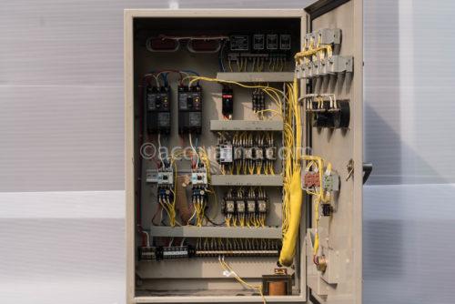 テラルキョクトウ PCWKF5-2.2KW 制御盤