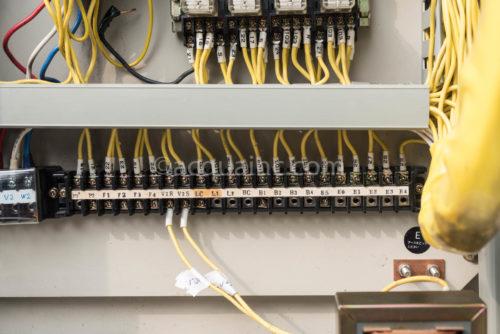 テラルキョクトウ PCWKF5-2.2KW 制御盤 端子台